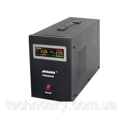 Источник бесперебойного питания AVANSA UPS800 (510Вт, 12В)