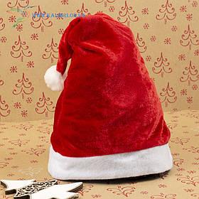 Новорічна шапка Діда Мороза, новорічний ковпак ГО-64