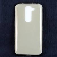 Чехол-накладка для LG G2 mini D618, ультратонкий силиконовый прозрачный /case/кейс /лж