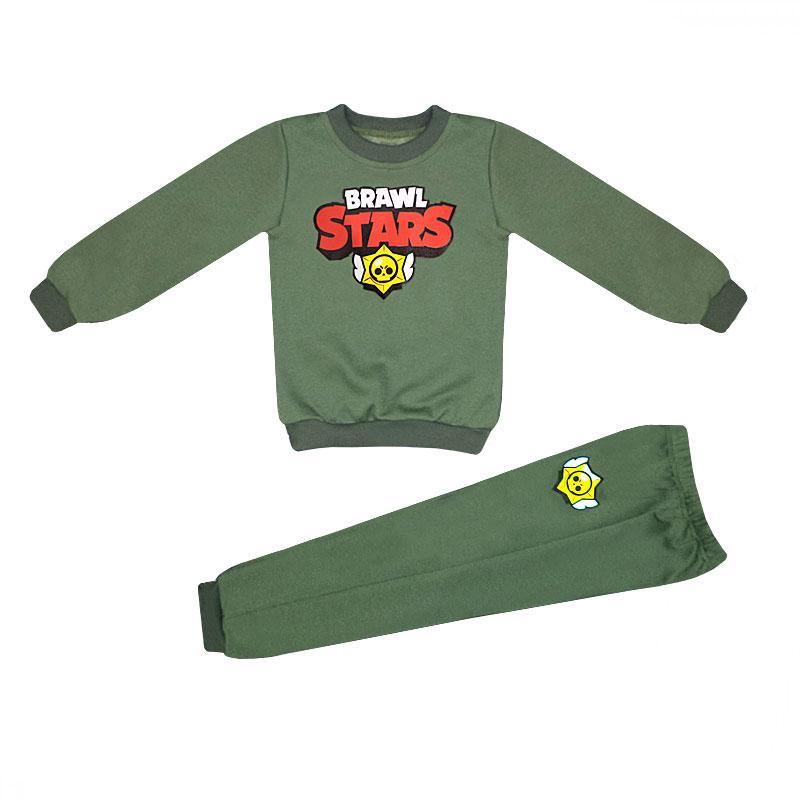 Спортивный детский костюм для мальчика Brawl staes трехнитка