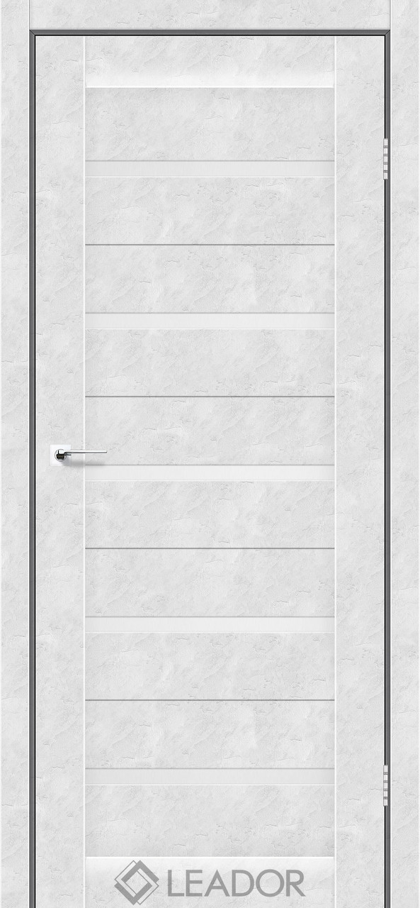Двери Leador SIENA Белый бетон ПО