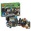 Конструктор Bela 10470 Майнкрафт Портал края (аналог Lego Minecraft 21124), фото 2