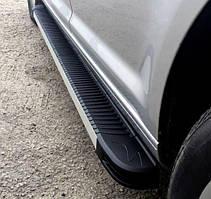 Подножки на Renault Captur (c 2013---) Рено Каптур