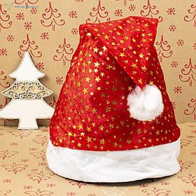 Новогодняя шапка Деда Мороза, новогодний колпак ОО-69