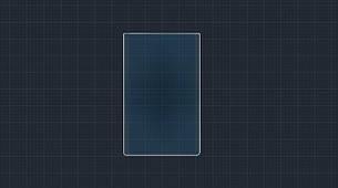 Захисне гібридне скло на монітор MATT TESLA MODEL X 2015