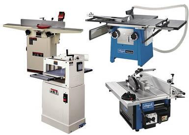 Верстати та обладнання для деревообробки