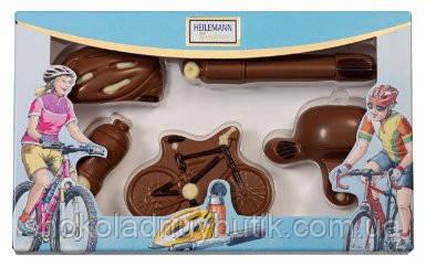 "Heilemann Confiserie шоколадные фигурки ""Велоспорт"" 100г"