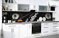 """Скинали на кухню Zatarga  """"Одуванчик Ландыш""""  650х2500 мм виниловая 3Д наклейка кухонный фартук самоклеящаяся, фото 1"""