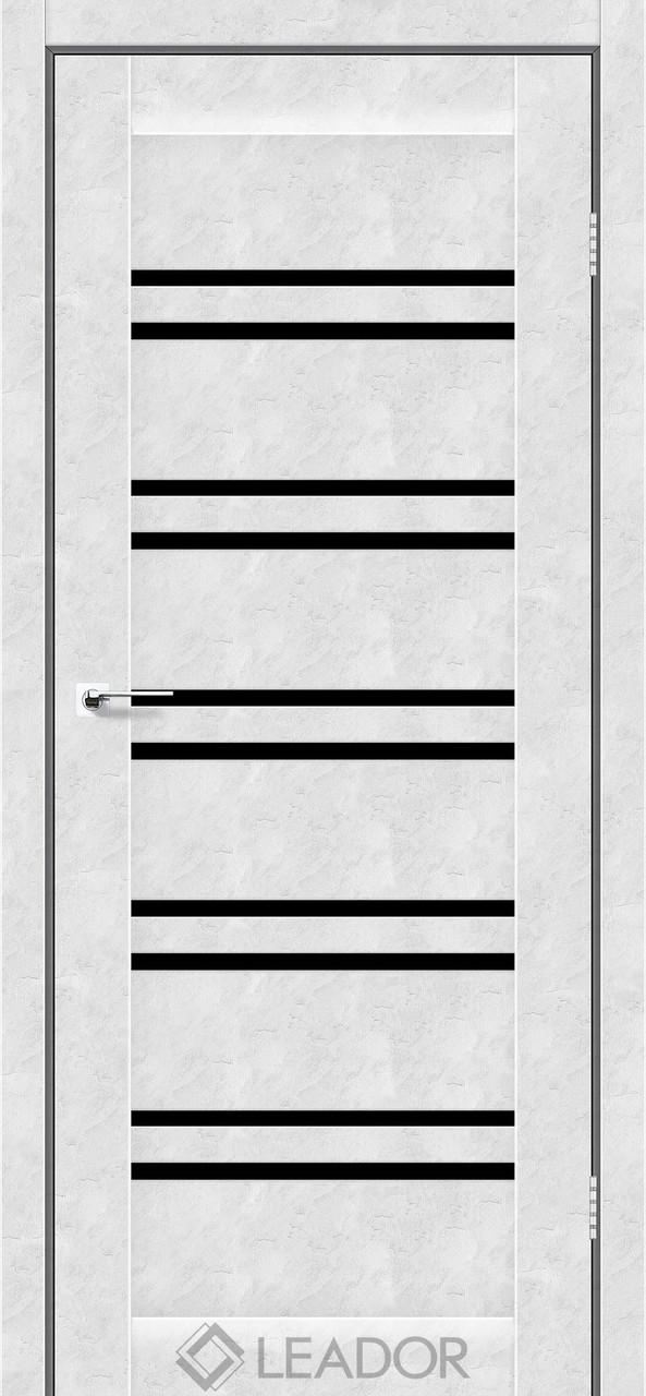Двери Leador SICILIA Белый бетон BLK
