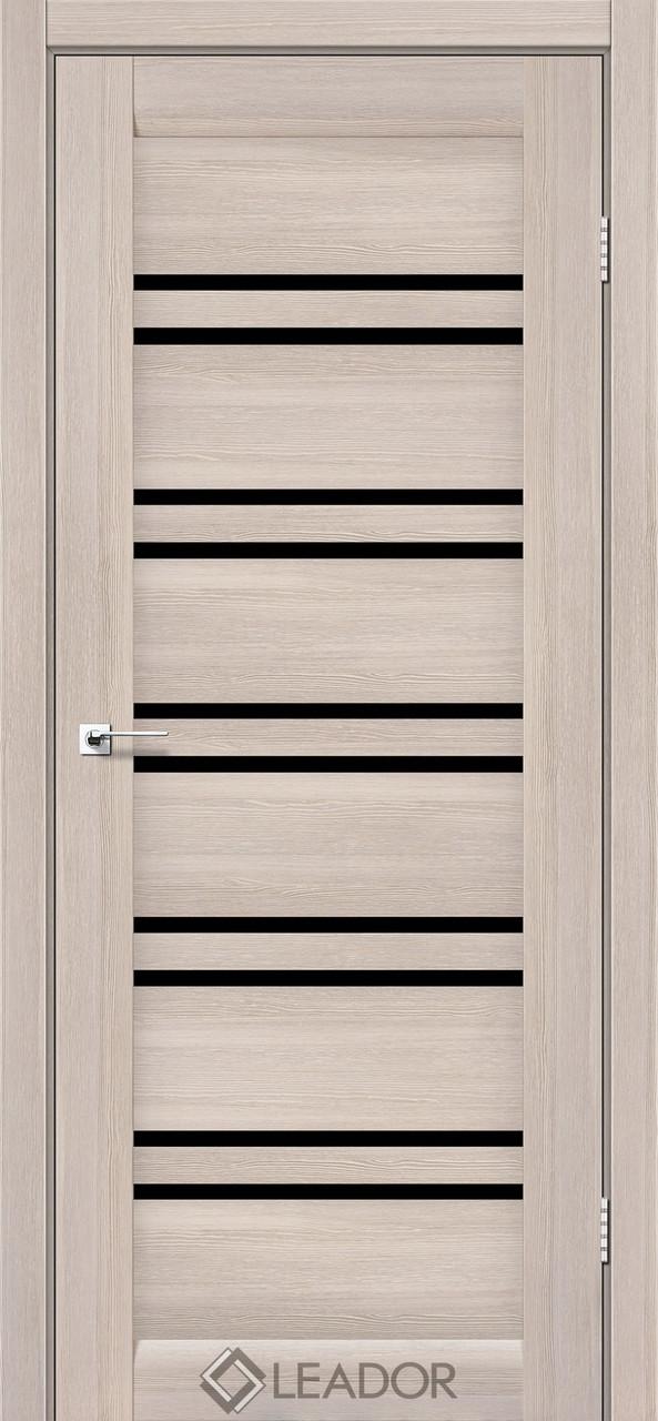 Двери Leador SICILIA Монблан BLK