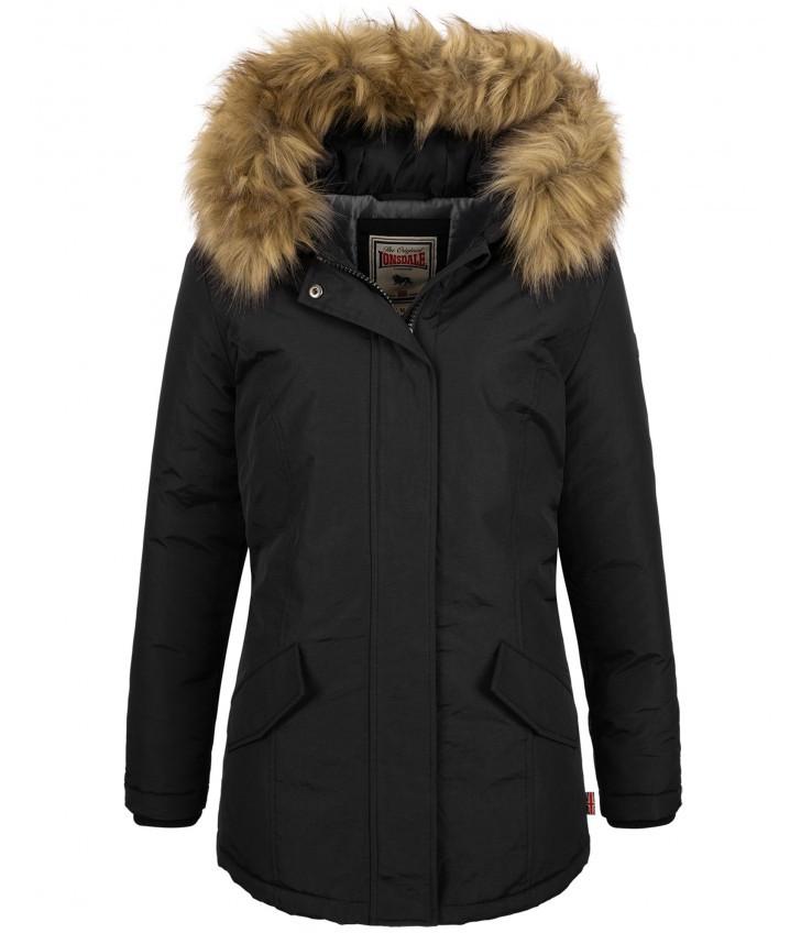 Зимняя женская куртка Lonsdale 116065 Black