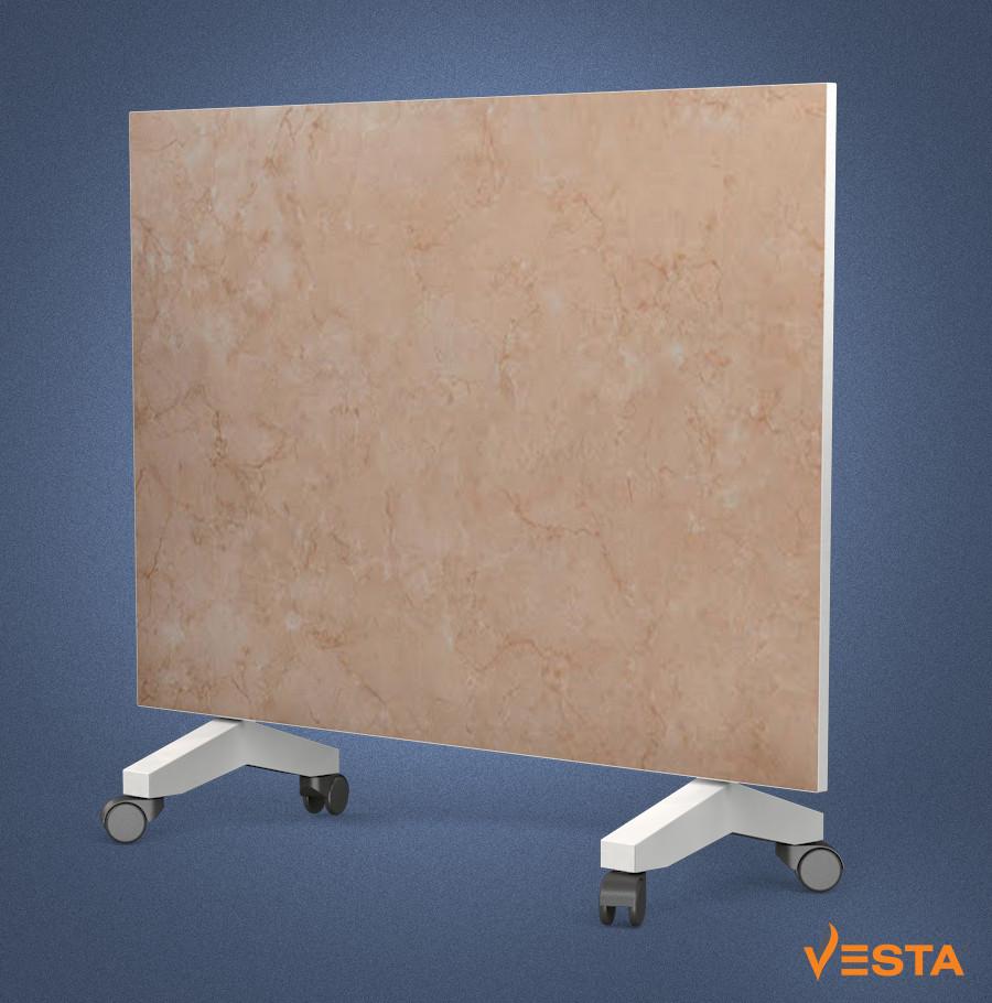 Керамический обогреватель инфракрасный VESTA 800 Вт с терморегулятором и ножками 90х60 см