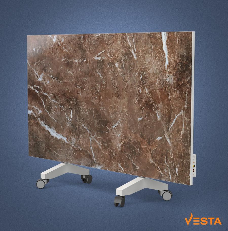 Керамічний обігрівач інфрачервоний VESTA 1200 Вт з терморегулятором і ніжками