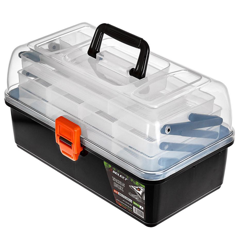 Ящик рыболовный Select Tackle Box SLHS-305 3-х полочный 36.8х21.4х20см