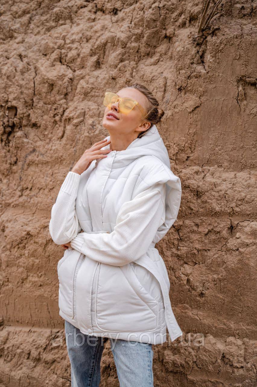 Женский непромокаемый утепленный жилет