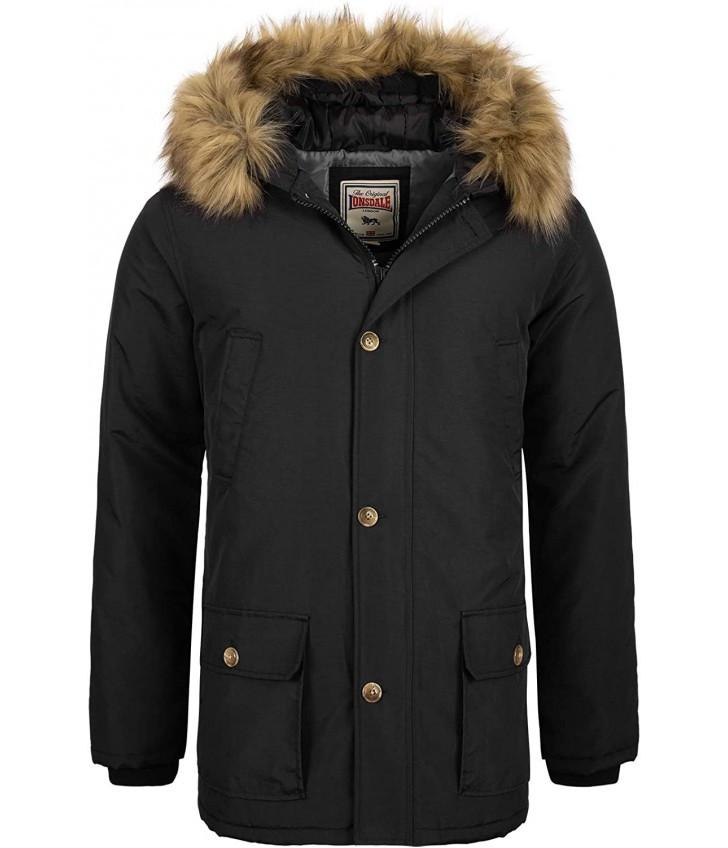 Зимняя мужская куртка Lonsdale 116054 Black