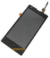 Дисплей (LCD) Xiaomi Redmi (Hongmi, Red Rice) с сенсором (тачскрином) Black Original