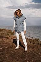 Женский непромокаемый утепленный жилет, фото 1
