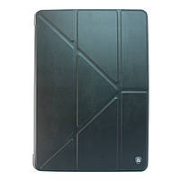 Чехол-книжка для iPad Mini, iPad Mini 2, iPad Mini 3, кожаный с поликарбонатом, Baseus, Черный /flip case/флип кейс /айпад