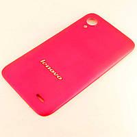 Задняя крышка для Lenovo S720, Original, Розовый /панель/корпус/накладка /леново