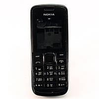Корпус для Nokia 113, с клавиатурой, High Copy, Черный /панель/крышка/накладка /нокиа
