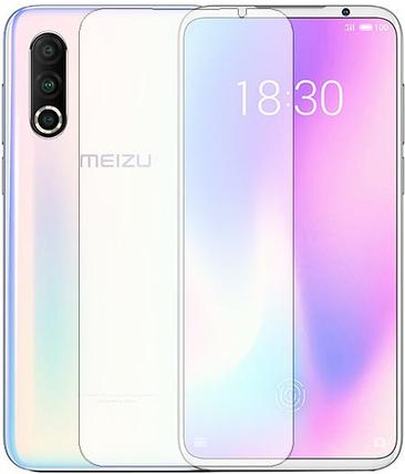 Гідрогелева захисна плівка на Meizu 16s Pro на весь екран прозора, фото 2