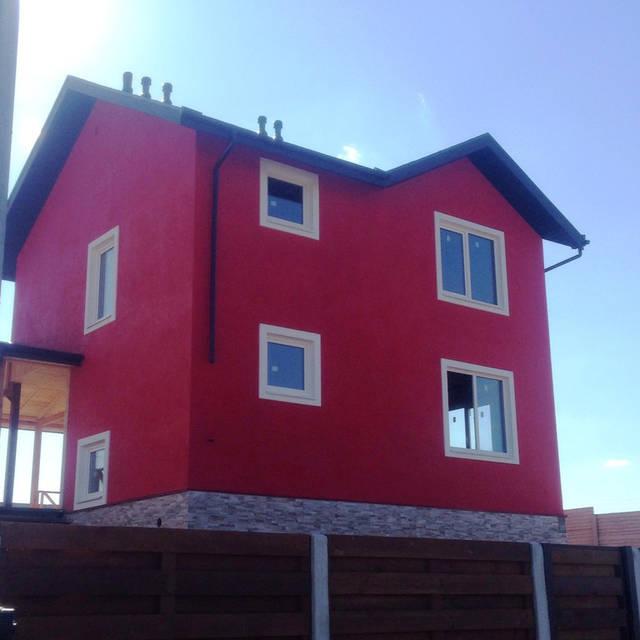Система естественной и механической вентиляции для каркасного дома.