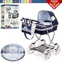Детская коляска для куклы DeCuevas 80225 классика