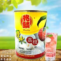 Кокосовое молоко 245мл+Плоды личи целые без косточек в сиропе 567г +Ананас дольки 825г, фото 2
