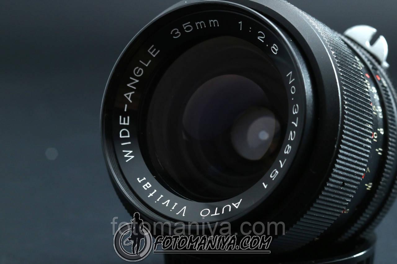Vivitar wide-angle 35mm f2.8 Nikon Non-Ai