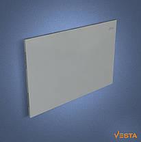 Металлический обогреватель инфракрасный VESTA 1000 Вт с терморегулятором и ножками серый, фото 2