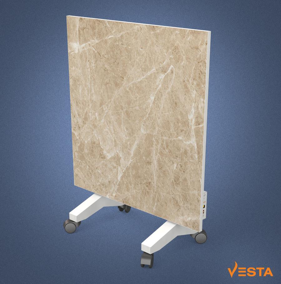 Керамический обогреватель инфракрасный VESTA 500 Вт с терморегулятором и ножками