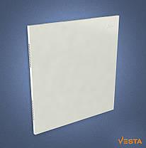 Металлический обогреватель инфракрасный VESTA 500 Вт с терморегулятором и ножками белый, фото 3