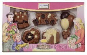 """Heilemann Confiserie шоколадные фигурки """"С Днем Рождения"""" 100г"""