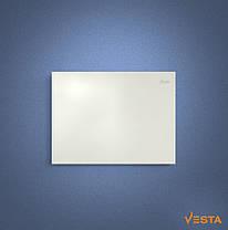 Металлический обогреватель инфракрасный VESTA 800 Вт с терморегулятором и ножками белый, фото 3