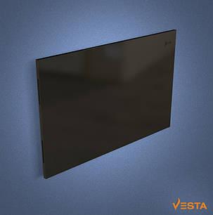 Металлический обогреватель инфракрасный VESTA 1000 Вт с терморегулятором и ножками черный, фото 2