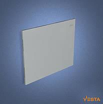 Металлический обогреватель инфракрасный VESTA 800 Вт с терморегулятором и ножками серый, фото 2