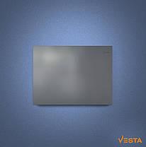 Металлический обогреватель инфракрасный VESTA 800 Вт с терморегулятором и ножками серый, фото 3