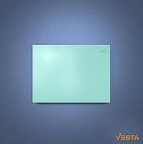 Металлический обогреватель инфракрасный VESTA 800 Вт с терморегулятором и ножками зеленый, фото 3