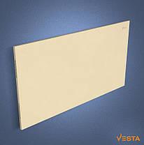 Металлический обогреватель инфракрасный VESTA 1000 Вт с терморегулятором и ножками желтый, фото 3