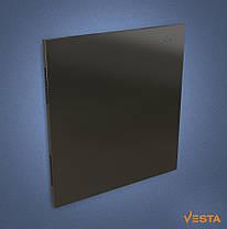 Металлический обогреватель инфракрасный VESTA 500 Вт с терморегулятором и ножками черный, фото 2