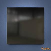 Металлический обогреватель инфракрасный VESTA 500 Вт с терморегулятором и ножками черный, фото 3