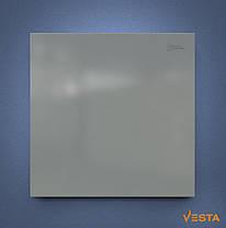 Металлический обогреватель инфракрасный VESTA 500 Вт с терморегулятором и ножками серый, фото 3
