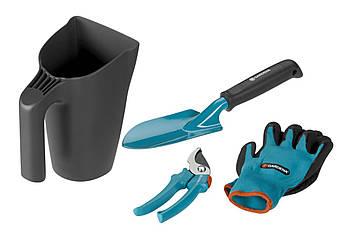 Комплект ручного інструменту з ковшиком disp Gardena