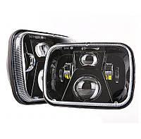 Фара прямокутна LED 5х7 дюйми, 55Вт, Jeep Chevrolet Ford GMC Toyota, 12 В, 45 Вт, MS-S5786