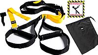 Тренировочные петли TRX - Fit Lumo Yellow 4 in 1 set ТОП качество 4 см ширина