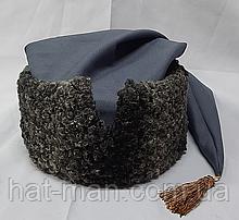 Гетьманська шапка з сірого каракулю