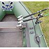 Держатель спиннинга для лодки подставка для удилища стойка для удочки Bank-4 установка на сиденье раздвижной, фото 4