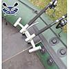 Держатель спиннинга для лодки подставка для удилища стойка для удочки Bank-4 установка на сиденье раздвижной, фото 6