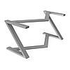 Подстолье для компьютерного стола из металла 1075
